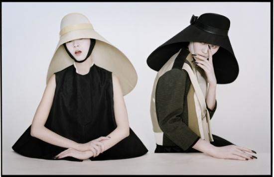 11 Liu Wen & Xiao Wen by Tim Walker for W Magazine, March 2012